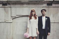 Pretty Pastel DIY Wedding: Joey & Mike · Rock n Roll Bride