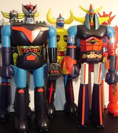 Shogun Warriors. My fav toy as a kid in the 70s. They cost a fortune to buy now. -Lav