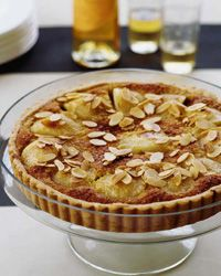 Pear and Almond Cream Tart Recipe from Food & Wine
