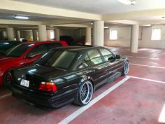 "BMW E38 Work Rezax 2 20"" 9.5 + 11J"