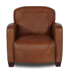 Luxury handcrafted armchair. Made to order. Bespoke Italian leather colours. Barnham Brown Leather Armchair for part of a sofa set. Free UK delivery!