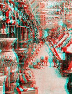 Cole's Book Arcade, Melbourne - Victoria Foto 3d, Glitch Wallpaper, Photography Sketchbook, 3d Pictures, 3d Fantasy, Mixed Media Artwork, Glitch Art, Psychedelic Art, Sci Fi Art