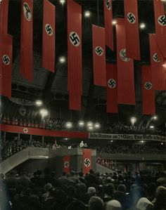 Imagine standing in this hall, with these surroundings, listening to this man.