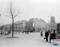 Arnhem Klarendal: De Akkerstraat bij de Klarendalseweg omstreeks 1900