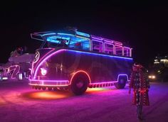 Jesse Corletto - Vintage Volkswagen Club of America Creative VW minds at Burning Man 2015 in Reno, NV ♠ re-pinned by http://www.wfpblogs.com/category/toms-blog/