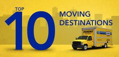 #Penske Truck Rental 2012 Top Moving Destinations:  1. #Atlanta  2. #Dallas  3. #Phoenix  4. #Orlando  5. #Chicago  6. #Houston  7. #Denver  8. #Seattle  9. #Charlotte  10. #Sarasota