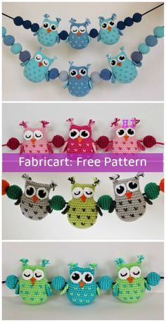 Crochet Heart Stitch Owl Free Pattern