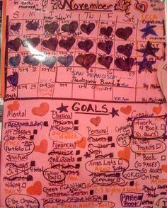 #tbt #Crafty Story & Question: Holy Macaroni! Before the #Filofax.... I used to laminate giant sheets of paper & write down #goals. Everything from #retirement savings goals to ... #spiritual books I needed to read. This was 2011. I was taking 15 credits each semester teaching full time advising cheer at about two basketball games a week helping with a daycare training for a marathon & my #blog had the highest subscription rate. I really was on a roll... Now... I post what I feel I'm a WAHM…