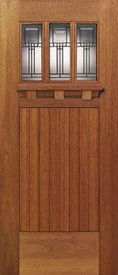 LOVE this craftsman door! This door is about to be mine…or one that looks very similar!: LOVE this craftsman door! This door is about to be mine…or one that looks very similar! Craftsman Door, Craftsman Interior, Craftsman Style Homes, Craftsman Bungalows, Craftsman Windows, Arts And Crafts Furniture, Arts And Crafts House, Exterior Doors, Entry Doors