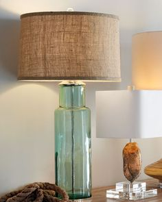 love this recycled glass lamp  http://rstyle.me/n/esi6apdpe