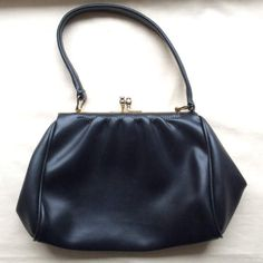 Vintage 40s 50s small faux leather handbag black by coolclobber #coolclobbervintage #coolclobber #floslingerie #vintageetsy #etsyvintageshop #womensvintage #mensvintage #vintageclothing #vintageaccessories #vintageshop www.coolclobbervintage.com https://www.etsy.com/uk/shop/coolclobber https://www.etsy.com/uk/shop/floslingerie  visit my shops for a fabulous selection of vintage clothing and accessories. Shipping internationally from the U.K.