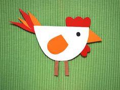 Huhn basteln