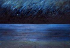 Caspar david friedrich -> lucht is dynamisch -> grote aandacht voor kleurgebruik en licht -> gaat om persoonlijke beleving -> sublieme van de natuur komt naar voren (?)