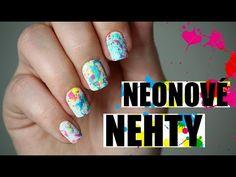 Jak na Jednoduché Neonové Nehty? - YouTube