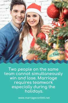 Marriage problems during holiday season what do