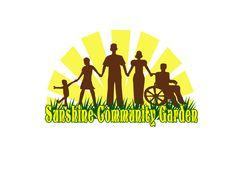 The new Sunshine Community garden logo created by A Guerilla Gardener on an Adventure!