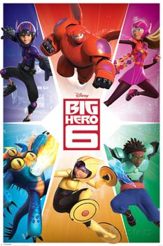 Big Hero 6 - Team Prints - AllPosters.co.uk