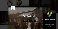 Wedding Emotions - WordPress Theme We have created a universal theme for weddings, photographers and people who want to keep in the history of their wedding. The theme has a lot of settings and features. You also have the opportunity to create absolutely any page using the popular Page Builder.  Remember, buying our themes you get 24/7 support! Features:      Fully Responsive     Extended photography support – cover/proportional view, thumbnails, masonry, Kenburns slider and many more