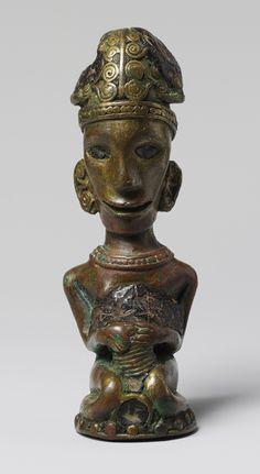 Tano Batak: June 2007 Staff finial, 19th–20th century Indonesia, Sumatra, Batak people Copper alloy; H. 4 1/2 in. (11.4 cm) Gift of Fred and Rita Richman, 1988