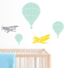 Kids Room Decorating with Wall Decals