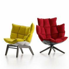 Patricia Urquiola revisite le capitonnage version XXL avec ce fauteuil - B italia...2000€ minimum!!