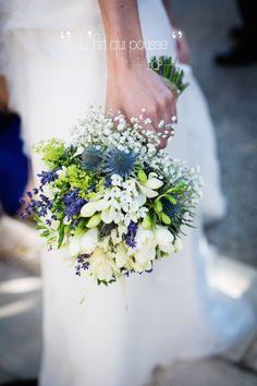 Bouquet de mariée Lavande , Parme - Provence   By : L'Art qui Pousse