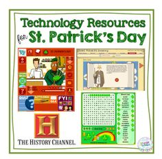 Technology Resources for St. Patrick's Day