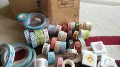 Washi, kawai a látkové pásky