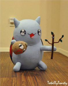Dramabug Catbug plush - Bravest Warriors by hiyoko-chan on deviantART