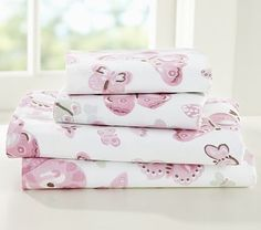 Camille Sheeting #PotteryBarnKids