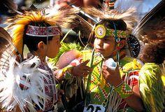 two native american mesquakie children    www.liberatingdivineconsciousness.com