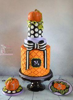 Halloween Cake by Jenny's Haute Cakes