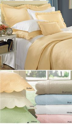 Alice Coverlet by Sferra Fine Linens - 7 Colors