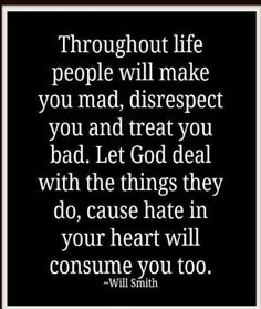 Let God Deal with them...
