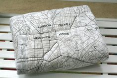 map quilt from the small object