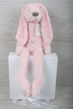 Richie Rabbit Personalised Bunny Personalised Teddy Bears, Rabbit, Bunny, Dolls, Animals, Personalized Teddy Bears, Animales, Rabbits, Animaux
