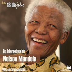18 de julio – Día Internacional de Nelson Mandela #DíasInternacionales