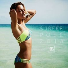 Alana Blanchard was the 2013 Surfer Poll #1 for girls athletes and is rocking this Gypsy Queen Bikini from Spring '14!