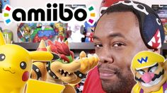 My AMIIBO and WORLD OF NINTENDO Collection : Black Nerd haul of amiibo figures & World of Nintendo toys.