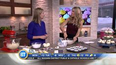 Celebrity chef Anna Olson shows viewers how to make light and fluffy cupcakes for humans and dogs! The annual National Cupcake Day raises funds for Canada's . National Cupcake Day, Fluffy Cupcakes, Anna Olson, How To Make Light, Third, Recipes, Dessert Recipes, Fluffy Biscuits