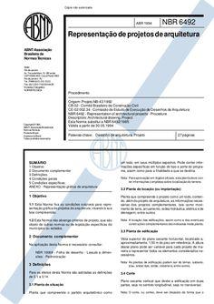 Norma técnica nbr 6492