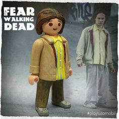 Nick Clark from Fear The Walking Dead - Playmobil Version