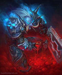 ArtStation - Blood Knight, Ivan Fomin
