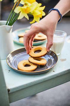 Vaníliás karika házilag   Street Kitchen Onion Rings, Pavlova, Sweet Treats, Goodies, Food And Drink, Sweets, Baking, Breakfast, Ethnic Recipes
