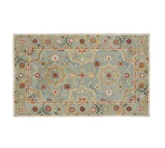 Leslie Persian-Style Rug | Pottery Barn                   Entry?