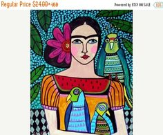 55% off - Frida Kahlo arte popular mexicano (HG466)