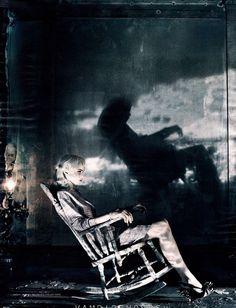 Rocking chair...