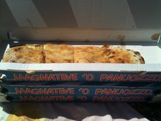 Panuozzo! A small calzone typical of the Campania region, this is from Sapri.