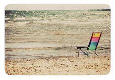 Beach Chair by Angie Turner Bath Mat