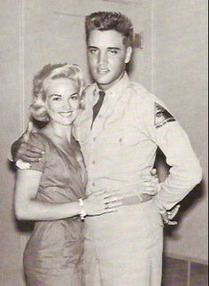 George Klein introduced 19-year-old Anita Wood to Elvis in 1957, and she remained his preferred girlfriend until his induction into the army a year later. Even after Elvis met Priscilla in Germany, he continued to call Anita and send her presents. She was still in the picture when Elvis returned from the army, and it wasn't until 1962, when she found out about Elvis and Priscilla, that she ended her relationship with Elvis.